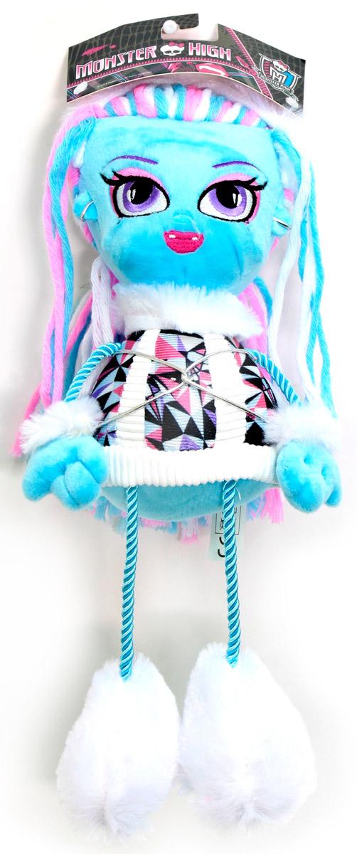 Monster High Кукла плюшевая ЭббиТ57416Плюшевая кукла Monster High Эбби будет замечательным подарком для маленькой поклонницы Monster High. Очаровательная кукла с вышитым личиком и длинными волосами из пряжи одета в платье с отделкой из искусственного белого меха. На ножках пушистые белые унты. Ножки и ручки куклы выполнены из декоративного шнура. Размер в полный рост - 35 см.