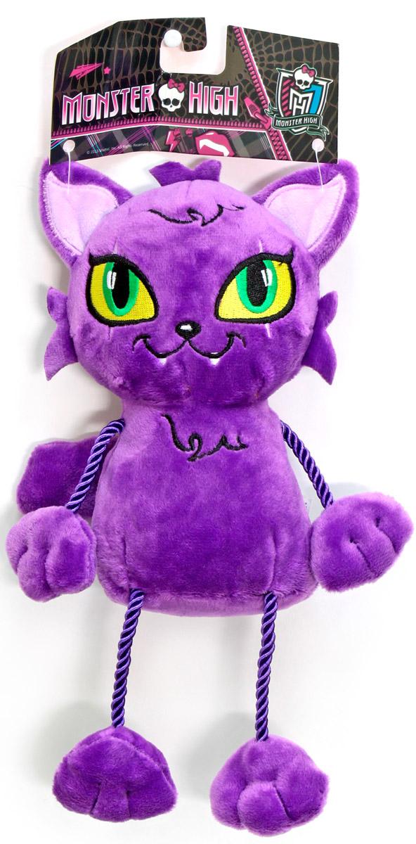Monster High Мягкая игрушка Кот Полумесяц 23 смТ57419Мягкая игрушка Monster High Кот Полумесяц - это домашнее животное Клодин Вульф, дочки Волка-оборотня. Кот изготовлен из бархатистого плюша, с вышитой мордашкой, с использованием разнофактурных материалов. Лапки из декоративного шнура. Высота игрушки - 23 см.