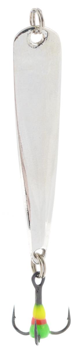 Блесна зимняя SWD, цвет: серебряный, 50 мм, 4 г48226Блесна зимняя SWD - это классическая вертикальная блесна. Выполнена из высококачественного металла. Предназначена для отвесного блеснения рыбы. Блесна оснащена тройником со светонакопительной каплей.