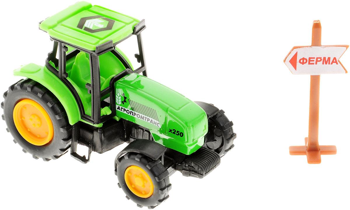 ТехноПарк Трактор Агропромтранс цвет салатовый ( 10119-R_салатовый )