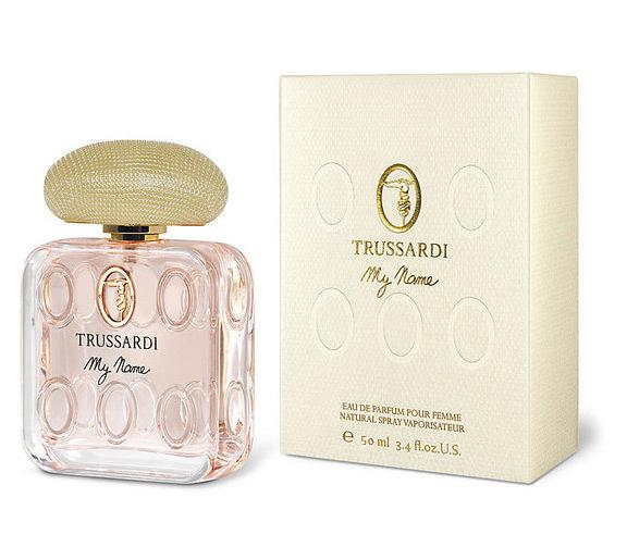 TRUSSARDI MY NAME WOMAN парфюмированная вода 50МЛ12442Свежие, цветочные. Гелиотроп, фиалка, мускус, сирень, ваниль, янтарь
