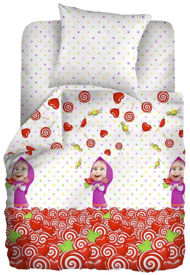 Маша и Медведь Комплект детского постельного белья Сластена