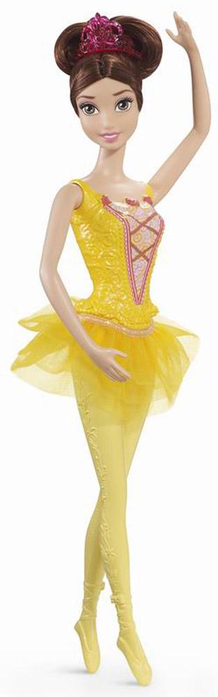 Disney Princess Кукла-балерина, 3 вида в ассортименте - Золушка, Бэлль, Аврора, 32,5х9х5смCGF30(CG31/CGF32/CGF33)Кукла-балерина Принцессы Диснея Аврора очень любит танцевать! Поэтому она нарядилась в специальный костюм с пышной юбочкой-пачкой розового цвета, несъемный купальник с ажурной линией декольте и в плотные колготки. Чтобы волосы не попадали в глаза во время выполнения различных пируэтов, Аврора сделала высокий хвост и собрала свои светлые волосы короной-диадемой.