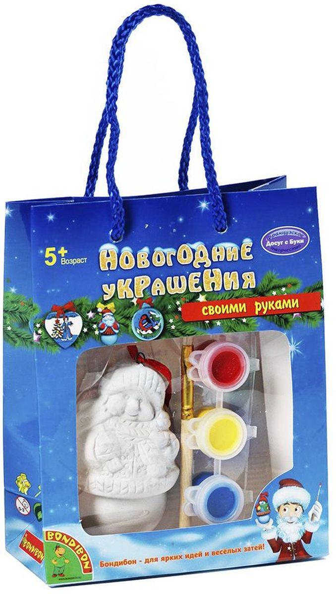 Bondibon Набор для росписи Новогодне украшение Снеговик Досуг с Буки