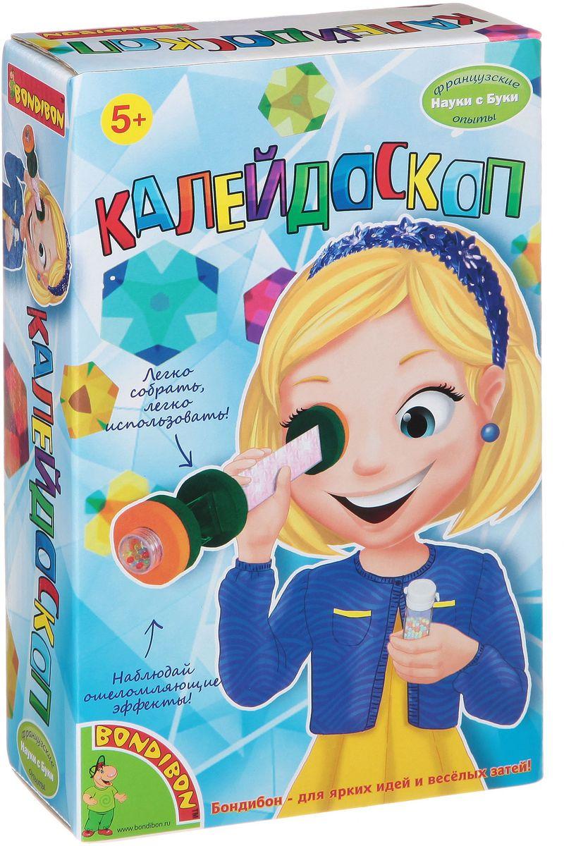 Bondibon Набор для опытов КалейдоскопВВ1316Наши родители наверняка помнят советскую игрушку: пластмассовая трубка, наполненная разноцветными стеклышками, способными складываться в самые удивительные узоры. Это калейдоскоп. Калейдоскоп был изобретен еще в девятнадцатом веке, и поначалу считался научным прибором, но вскоре стал популярной и необычной детской игрушкой! В этом наборе есть все необходимое для создания собственного калейдоскопа. Разноцветные камешки и стеклышки складываются в удивительные и необычные узоры, которые можно рассматривать долгие часы!