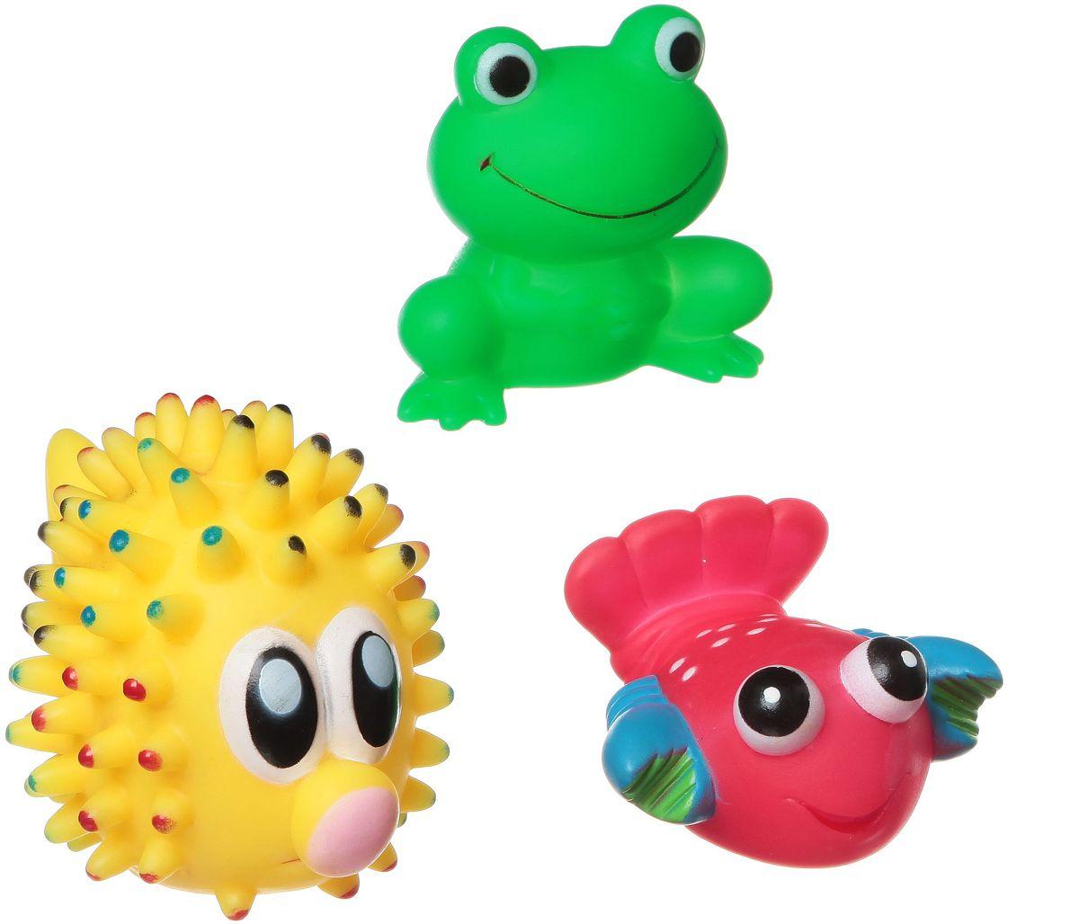 Bondibon Набор для купания Рак, Лягушка, Морской ежВВ1392Набор для купания Рак, Лягушка, Морской еж от Bondibon - это отличная развивающая игрушка, сделанная из качественных и безопасных материалов. Детям понравится играть с ними! Купание с такой игрушкой превратится в праздник!
