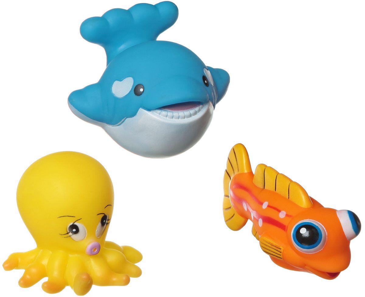 Bondibon Набор для купания Кит, Рыба, ОсьминогВВ1395Набор для купания Кит, Рыба, Осьминог от Bondibon - это отличная развивающая игрушка, сделанная из качественных и безопасных материалов. Детям понравится играть с ними! Купание с такой игрушкой превратится в праздник!