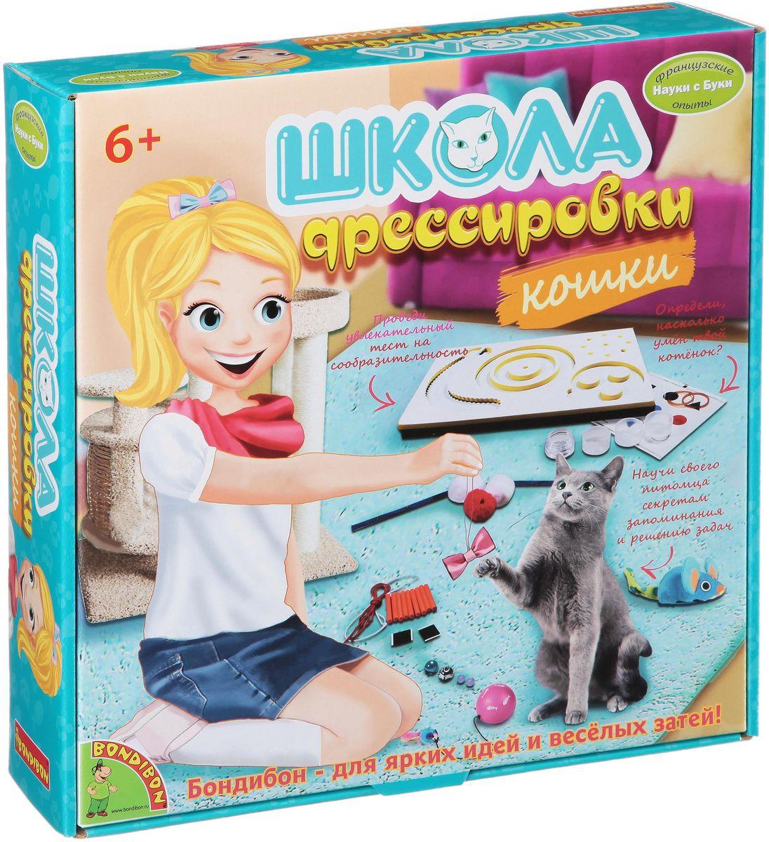 Bondibon Набор для опытов Школа дрессировки кошки
