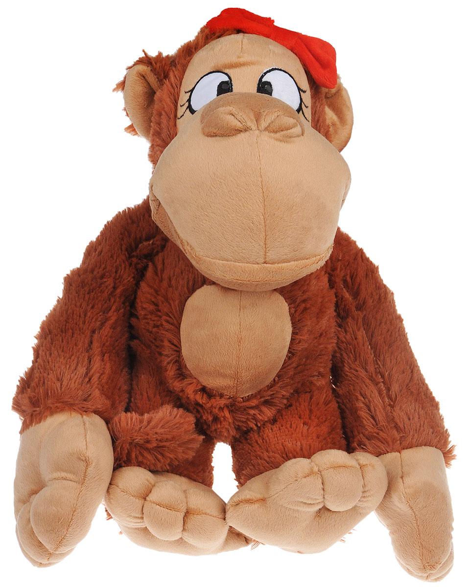 СмолТойс Мягкая игрушка Обезьянка Янка 42 см2075/КЧ/42Мягкая игрушка СмолТойс Обезьянка Янка - символ 2016 года, станет отличным подарком и принесет новогоднее настроение в ваш дом. Изготовлено изделие из высококачественных нетоксичных материалов, абсолютно безопасных для ребенка. Задорная, улыбающаяся с красным бантом, обезьянка Янка подарит вашему ребенку частичку радости и не оставит никого равнодушным! А великолепное качество исполнения делает эту игрушку чудесным подарком, как для ребенка, так и для взрослых. Уход за игрушкой: стирка при максимальной температуре 30°С, не гладить.