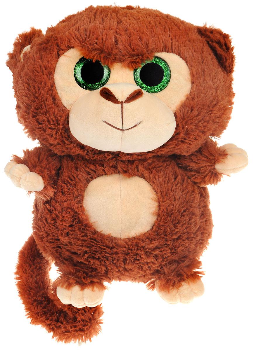 СмолТойс Мягкая игрушка Обезьянка 30 см1529/КЧ/30Мягкая игрушка СмолТойс Обезьянка - символ 2016 года, станет отличным подарком и принесет новогоднее настроение в ваш дом. Изготовлено изделие из высококачественных нетоксичных материалов, абсолютно безопасных для ребенка. Милая обезьянка выполнена в коричневом цвете с большими пластиковыми глазками зеленого цвета. Она обязательно принесет радость и подарит своему обладателю мгновения нежных объятий и приятных воспоминаний. А великолепное качество исполнения делает эту игрушку чудесным подарком, как для ребенка, так и для взрослых. Уход за игрушкой: стирка при максимальной температуре 30°С, не гладить.