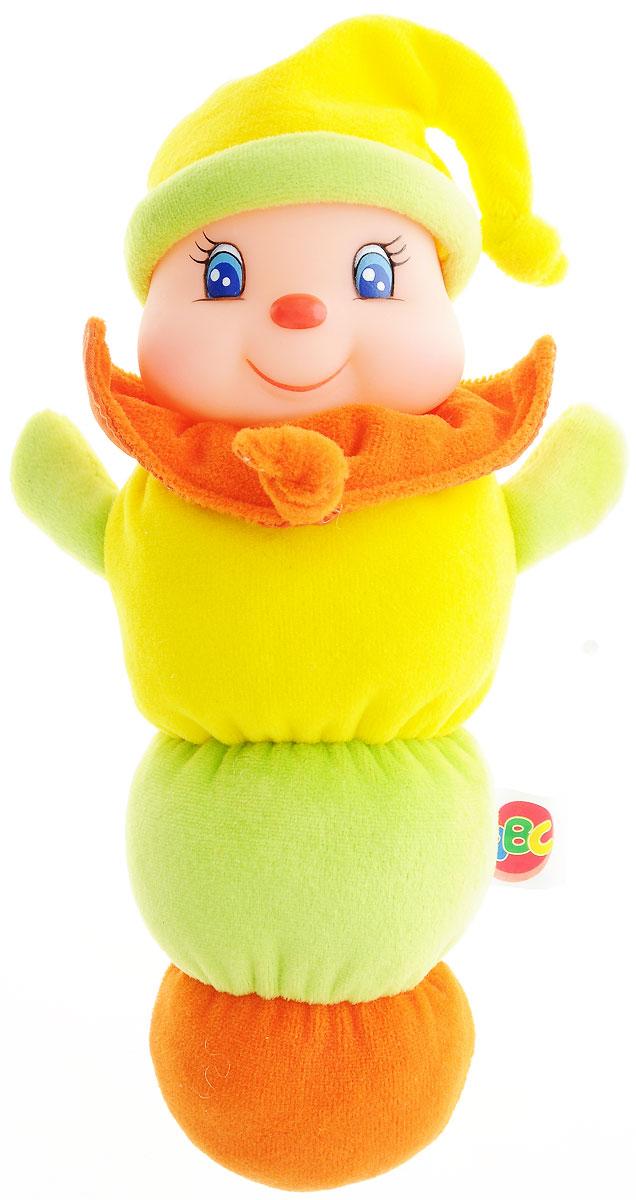 Simba Игрушка Клоун цвет желтый салатовый4011653_желтый, салатовыйОчаровательная игрушка Simba Клоун светится при нажатии светится, благодаря чему она не оставит равнодушным ни одного малыша. Игрушка выглядит, как веселый клоун, голова которого начинает светиться, если на нее нажать. Тело игрушки-клоуна сделано из приятного на ощупь плюша, а голова из винила. Эта замечательная игрушка точно понравится вашему малышу, он всегда будет брать ее в постель. Порадуйте своего малыша таким замечательным подарком! Рекомендуется докупить 2 батарейки напряжением 1,5V типа R6 (товар комплектуется демонстрационными).