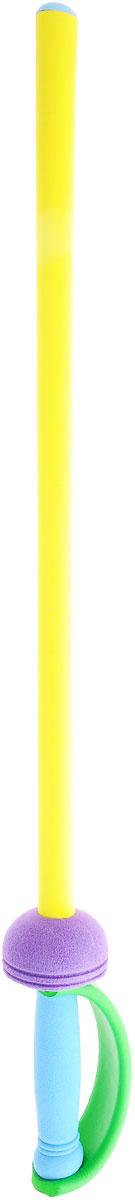 Safsof Рапира цвет желтыйUS-32(C)_желтыйРапира Safsof прекрасно подойдет для активных игр или может стать дополнением к маскарадному костюму. Рапира изготовлена из вспененной резины, что не позволит детям поранить друг друга. Каждый мальчик хотя бы раз мечтал стать благородным рыцарем и борцом за справедливость. С такой игрушкой это возможно. Фантазия ребенка перенесет его в мир средневековья. Можно организовать посвящение в рыцари, устроить настоящий рыцарский турнир или сразиться за сердце прекрасной дамы, а может уничтожить невиданное чудовище и спасти целый город! Игрушка создана для поддержания спортивного интереса у детей, развития физических навыков и командного духа. Порадуйте своего ребенка таким необычным подарком!