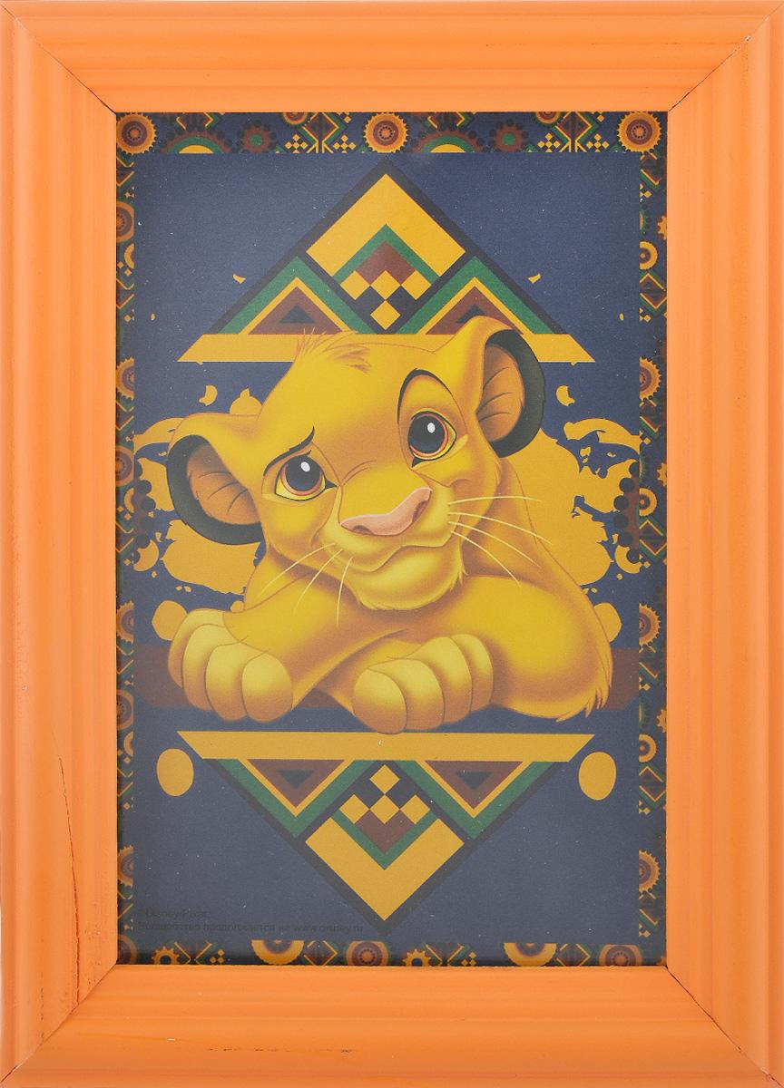 Фоторамка Vertigo Disney, цвет: оранжевый, 10 см х 15 см12582 WF-1073/582_оранжевыйФоторамка Vertigo Disney выполнена из дерева и стекла, защищающего фотографию. Оборотная сторона рамки оснащена специальной ножкой, благодаря которой ее можно поставить на стол или любое другое место в доме или офисе. Также изделие оснащено специальными отверстиями для подвешивания на стену. Такая фоторамка поможет вам оригинально и стильно дополнить интерьер помещения, а также позволит сохранить память о дорогих вам людях и интересных событиях вашей жизни.