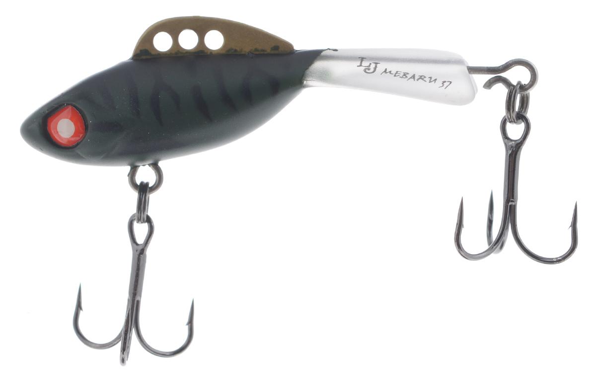 Балансир Lucky John Mebaru, цвет: черный, темно-серый, 3,7 см, 5 гLJME37-304Lucky John Mebaru - балансир, разработанный в Японии, для ловли хищной рыбы со льда и в отвес с дрейфующей лодки. Приманка изготовлена из свинцового сплава с корпусом и хвостом, сформированными из цельного морозостойкого и ударопрочного пластика ABS. Длинный хвост обеспечивает четкие развороты приманки в крайних точках траектории движения. В спинном плавнике, изготовленном из латуни, имеется три отверстия. В зависимости от точки крепления, игра приманки изменяется. На приманке установлены крючки Owner. Рекомендуется для ловли судака, щуки, форели и окуня.