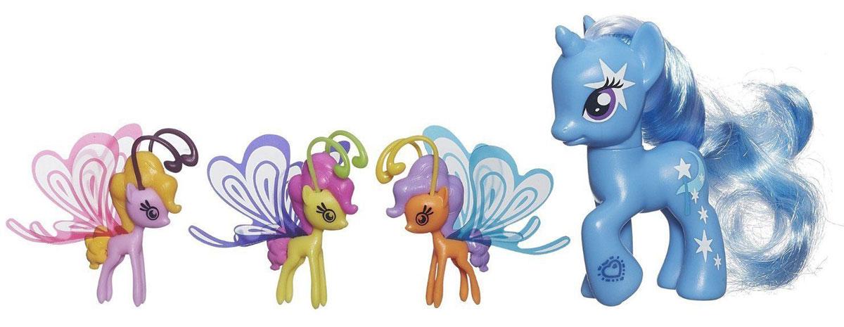 My Little Pony Игровой набор Trixie Lulamoon Делюкс с волшебными крыльями