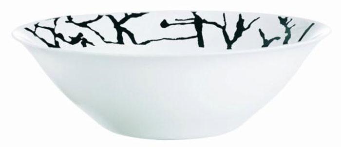Салатник Luminarc Dripping White, диаметр 27 смG9651Салатник Luminarc Dripping White выполнен из высококачественного стекла. Изделие сочетает в себе изысканный дизайн с максимальной функциональностью. Он прекрасно впишется в интерьер вашей кухни и станет достойным дополнением к кухонному инвентарю. Салатник не только украсит ваш кухонный стол и подчеркнет прекрасный вкус хозяйки, но и станет отличным подарком. Диаметр (по верхнему краю): 27 см.