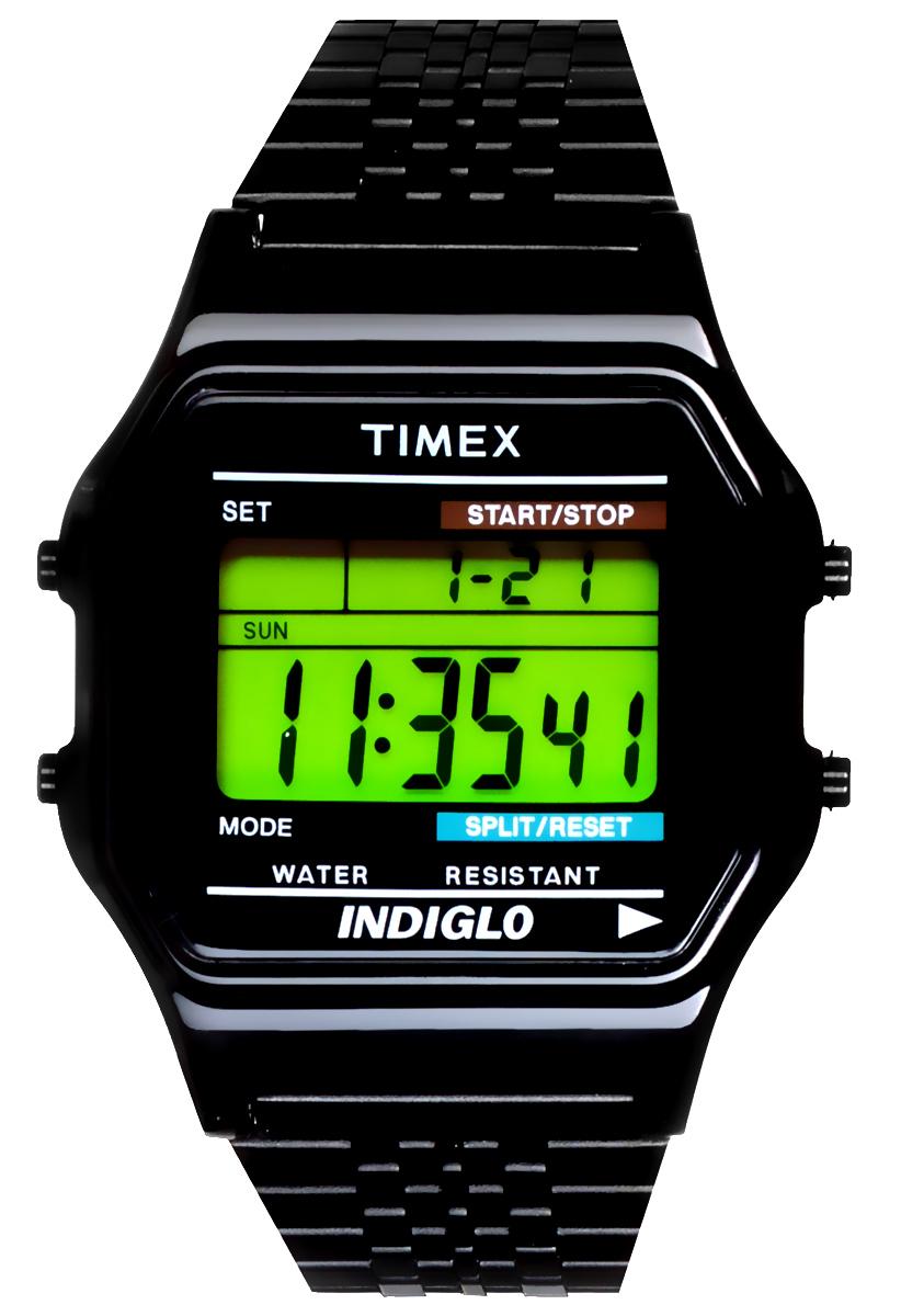 Часы наручные мужские Timex, цвет: черный. TW2P48400TW2P48400Стильные мужские часы Timex выполнены из нержавеющей стали и минерального стекла. Изделие оформлено символикой бренда. В часах предусмотрен цифровой отсчет времени. Функция секундомера позволит замерять прошедшее время, предусмотрен будильник и календарь, а также таймер и хронограф, календарь. Степень влагозащиты 3 atm. Изделие дополнено стальным браслетом, который оснащен удобным раскладным замком. Часы поставляются в фирменной упаковке. Многофункциональные часы Timex подчеркнут мужской характер и отменное чувство стиля у их обладателя.