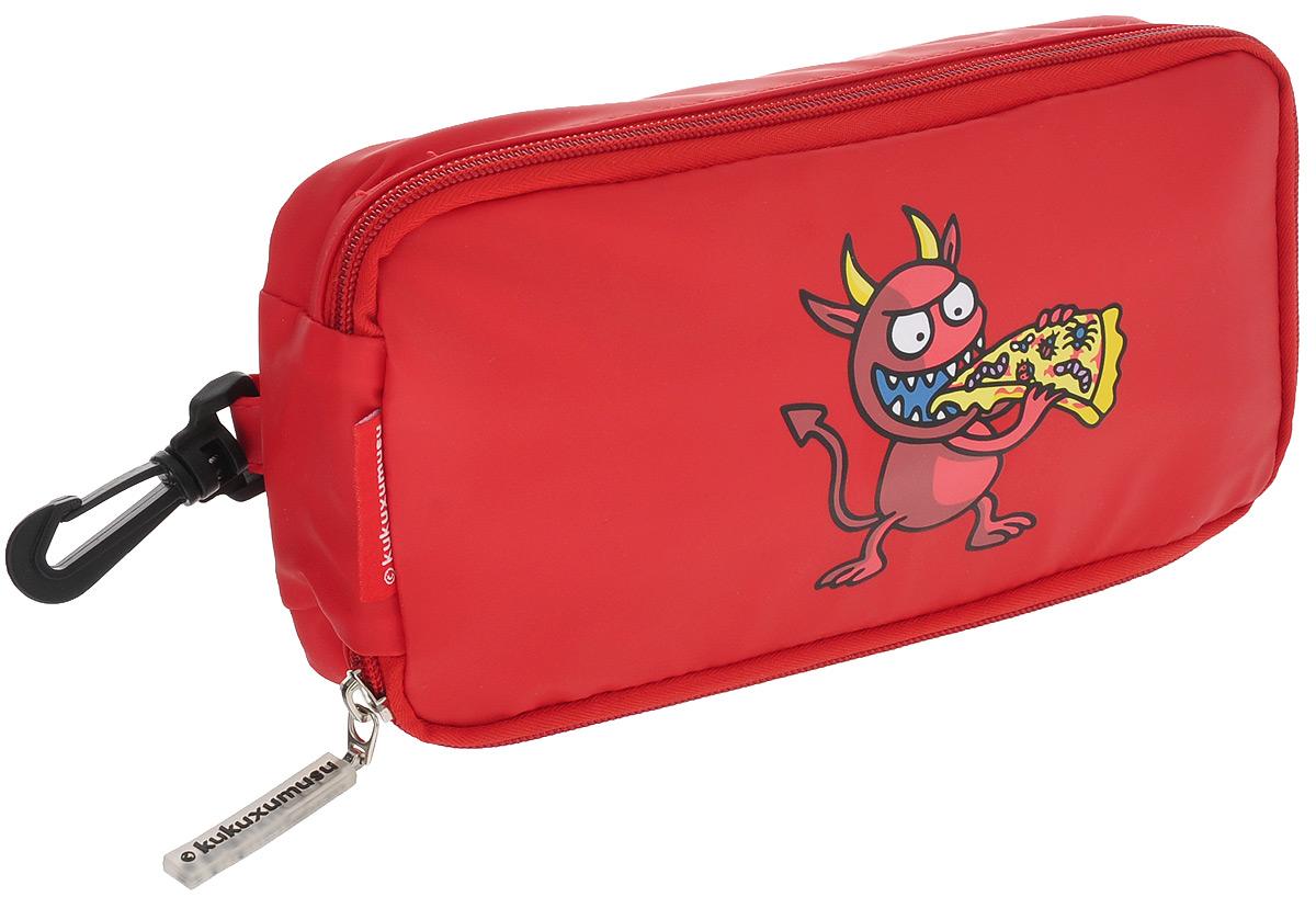 Бутербродница детская Valira, цвет: красный6080/83Детская бутербродница Valira замечательно подойдет для школьных завтраков, поездок и путешествий. Бутербродница представляет собой сумку, закрывающуюся на молнию. В ней удобно хранить бутерброды и закуски. Выполнена из гигиеничного и непромокаемого материала, украшенного забавным рисунком. Внутри бутербродница отделана термопрослойкой из металлизированной ткани, что позволяет сохранять пищу теплой и вкусной. Имеет компактный размер и легко помещается в любую сумку. Подходит как для мальчиков, так и для девочек. Снабжена пластиковым карабином для крепления к рюкзаку или сумке. Не предназначена для использования в СВЧ и посудомоечной машине.