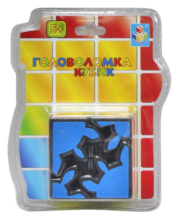1TOY Головоломка КубикТ57365Головоломка Кубик сконструирована особым образом. Восемь шестеренчатых элементов этой головоломки расположены по углам так, что поворот любого из них автоматически вращает все остальные элементы. Игрушка проста в использовании и оригинальна и необычна. Кубик - это увлекательная головоломка, которая понравится любому ребенку и взрослому человеку. Данная модель позволит развить логическое мышление, восприятие цвета, а также моторику рук. Головоломка подойдет как для игры дома, так и в дороге. С такой головоломкой у вас не будет времени скучать!