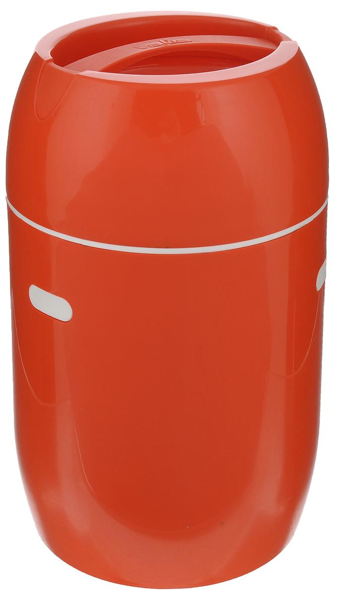 Термоконтейнер для еды Valira, цвет: оранжевый, 0,75 л6801/52Термоконтейнер Valira - это удобный и легкий термический контейнер для еды, который сохраняет температуру пищи до 6 часов. Контейнер выполнен из цветного пищевого пластика, внутри расположена стеклянная колба, а, как известно, стекло позволяет хранить тепло и холод лучше всех других материалов. Если нет возможности разогреть или сохранить в холоде пищу, этот контейнер будет вашим незаменимым помощником. Контейнер укомплектован съемной емкостью, которая послужит в качестве миски. Герметично закрывается крышкой с удобной ручкой для переноски. Подходит для ежедневного использования на работе или учебе, а также для отдыха на природе. Диаметр съемной емкости: 9 см. Высота съемной емкости: 5,5 см.