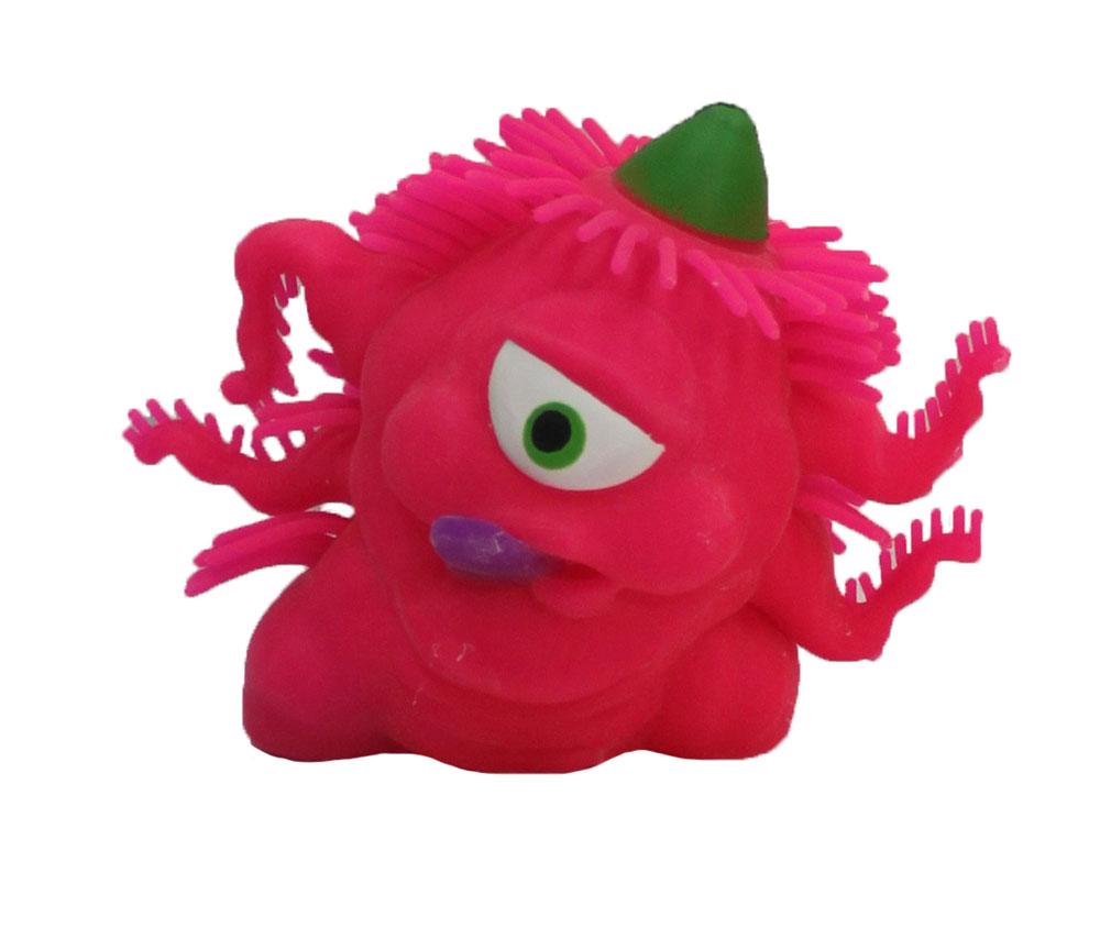 1TOY Игрушка-антистресс Ё-Ёжик Инопланетянин одноглазый цвет розовыйТ56229_розовыйЁ-Ёжик - это яркая игрушка-антистресс - мягкая, приятная на ощупь и напоминающая свернувшегося ёжика. Взяв игрушку в руки, расстаться с ней просто невозможно! Её не только приятно держать в руках, если перекинуть игрушку из руки в руку, она начнёт мигать цветными огоньками. Игрушка розового цвета в виде инопланетянина с мягкими колючками. Данная игрушка рассчитана на широкую целевую аудиторию, как детей от трёх лет, так и взрослых. Ё-Ёжик обязательно станет самым любимым забавным сувениром.