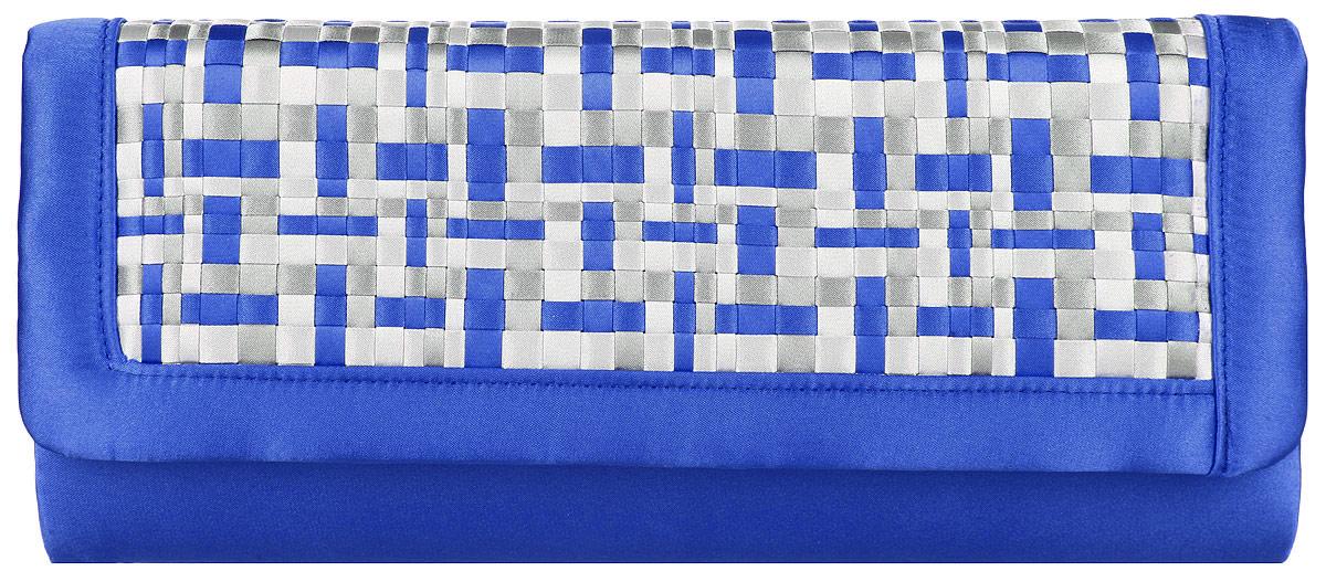 Клатч женский Eleganzza, цвет: синий, светло-серый, серый. ZZ-14282ZZ-14282Великолепный женский клатч Eleganzza выполнен из полиэстера. Изделие имеет одно основное отделение, внутри которого имеется открытый накладной карман. Закрывается клатч на клапан с магнитной кнопкой. Клапан оформлен декоративными текстильными вставками. Модель оснащена плечевым ремнем в виде цепочки. Роскошный клатч внесет элегантные нотки в ваш образ и подчеркнет ваше отменное чувство стиля.