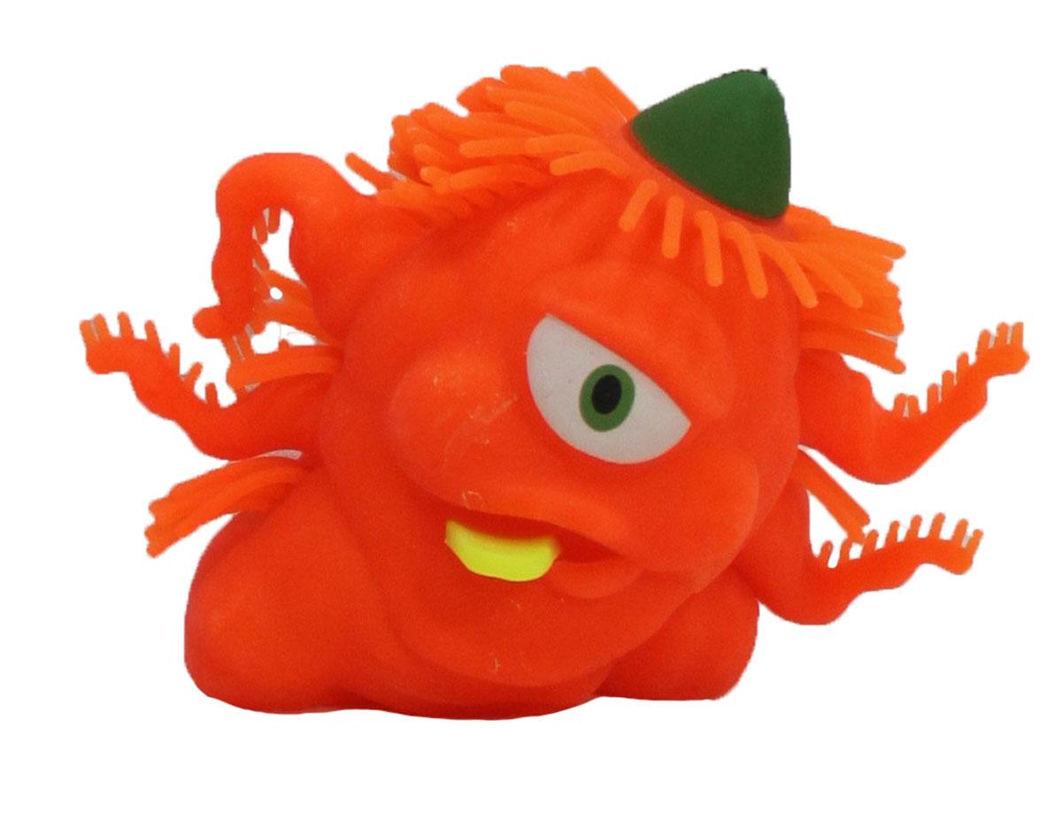 1TOY Игрушка-антистресс Ё-Ёжик Инопланетянин одноглазый цвет оранжевыйТ56229_оранжевыйЁ-Ёжик - это яркая игрушка-антистресс - мягкая, приятная на ощупь и напоминающая свернувшегося ёжика. Взяв игрушку в руки, расстаться с ней просто невозможно! Её не только приятно держать в руках, если перекинуть игрушку из руки в руку, она начнёт мигать цветными огоньками. Игрушка оранжевого цвета в виде инопланетянина с мягкими колючками. Данная игрушка рассчитана на широкую целевую аудиторию, как детей от трёх лет, так и взрослых. Ё-Ёжик обязательно станет самым любимым забавным сувениром.
