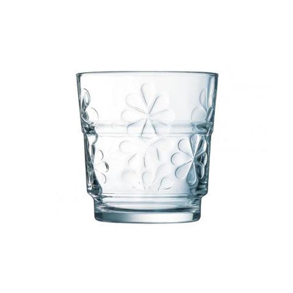 Набор стаканов Luminarc Funny Flowers, 250 мл, 6 штJ1136Набор Luminarc Funny Flowers состоит из 6 стаканов, выполненных из стекла. Они отличаются особой легкостью и прочностью, излучают приятный блеск и издают мелодичный хрустальный звон. Стаканы станут идеальным украшением праздничного стола и отличным подарком к любому празднику. Диаметр стакана (по верхнему краю): 8 см. Высота: 8,5 см.