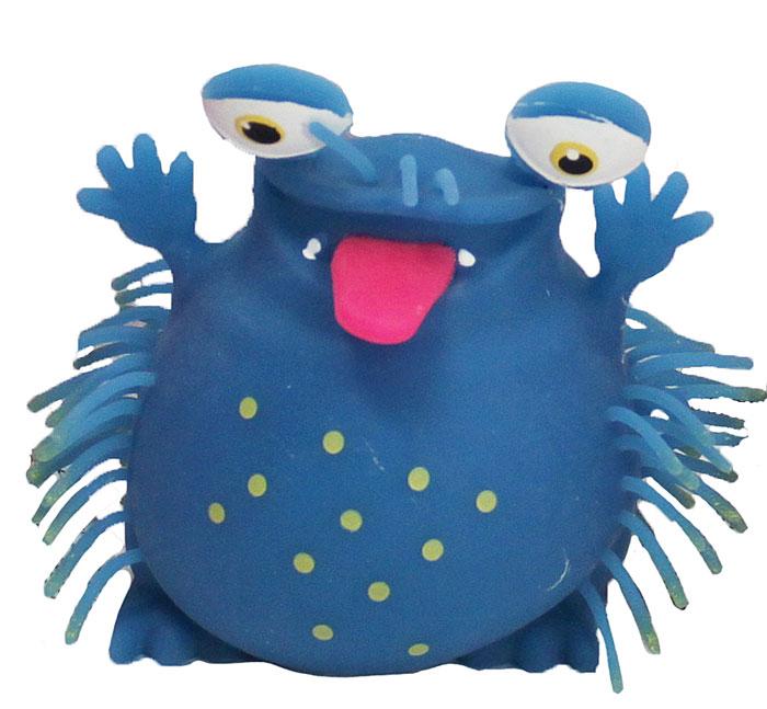 1TOY Игрушка-антистресс Ё-Ёжик Инопланетянин цвет синийТ56239_синийЁ-Ёжик - это яркая игрушка-антистресс - мягкая, приятная на ощупь и напоминающая свернувшегося ёжика. Взяв игрушку в руки, расстаться с ней просто невозможно! Её не только приятно держать в руках, если перекинуть игрушку из руки в руку, она начнёт мигать цветными огоньками. Игрушка синего цвета в виде инопланетянина с мягкими колючками. Данная игрушка рассчитана на широкую целевую аудиторию, как детей от трёх лет, так и взрослых. Ё-Ёжик обязательно станет самым любимым забавным сувениром.