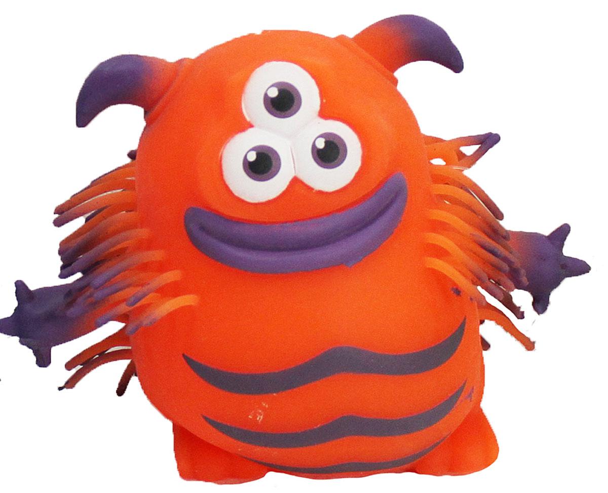 1TOY Игрушка-антистресс Ё-Ёжик Инопланетянин цвет оранжевыйТ56239_оранжевый/3 глазаЁ-Ёжик - это яркая игрушка-антистресс - мягкая, приятная на ощупь и напоминающая свернувшегося ёжика. Взяв игрушку в руки, расстаться с ней просто невозможно! Её не только приятно держать в руках, если перекинуть игрушку из руки в руку, она начнёт мигать цветными огоньками. Игрушка оранжевого цвета в виде инопланетянина с мягкими колючками. Данная игрушка рассчитана на широкую целевую аудиторию, как детей от трёх лет, так и взрослых. Ё-Ёжик обязательно станет самым любимым забавным сувениром.