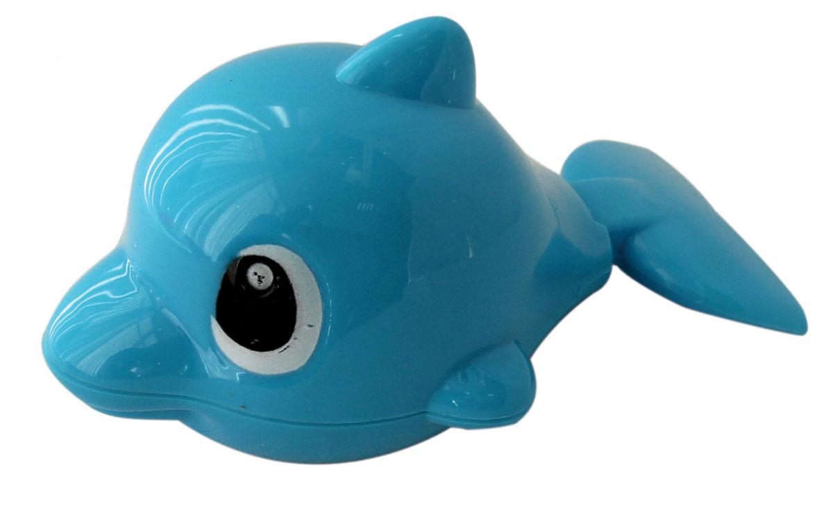 1TOY Игрушка для ванной Буль-Буль ДельфинТ57409Заводная игрушка Буль-Буль. Дельфин обрадует вашего малыша во время купания и сделает этот порой нелегкий процесс приятным и веселым. У дельфина при движении шевелится хвостик. Механическая игрушка быстро плавает по поверхности воды. Даже ребенку легко завести игрушку с помощью встроенного ключика. Данная игрушка не только развеселит вашего малыша, но и поможет развить мелкую моторику.