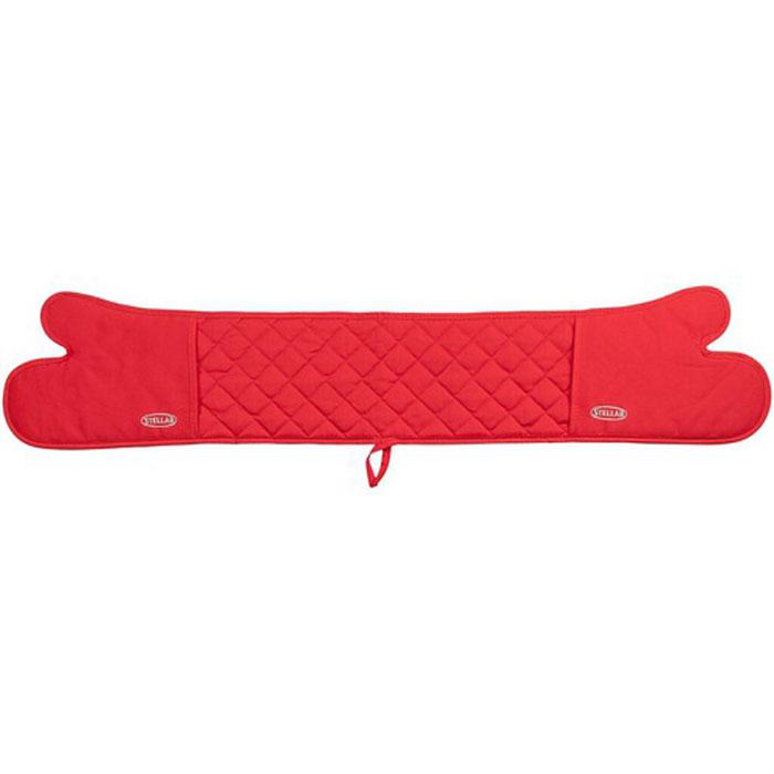 Варежка-прихватка Horwood Stellar, цвет: красный, длина 102 см х 18 смSTE03RВарежка-прихватка Horwood Stellar изготовлена из хлопка. Изделие оснащено текстильной петелькой для подвешивания на крючок. Варежка-прихватка прострочена, что позволяет не сбиваться наполнителю. С помощью такой прихватки ваши руки будут защищены от ожогов, когда вы будете ставить в печь или доставать из нее выпечку.