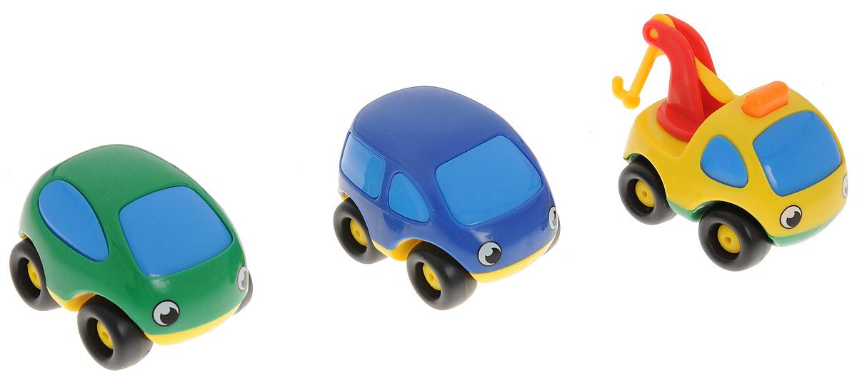 Smoby Мини-машинка Vroom Planet 3 шт750001_зеленый, синийМини-машинки Smoby из серии Vroom Planet привлекут внимание вашего ребенка и надолго останутся его любимыми игрушками. В наборе три мини-машинки желтого, синего и зеленого цветов. Малыш сможет часами играть с симпатичными глазастыми машинками, придумывая разные истории. Плавные формы без острых углов, яркие цвета - все это выгодно выделяет эти игрушки из ряда подобных. Игрушка развивает концентрацию внимания, координацию, цветовое восприятие, воображение.