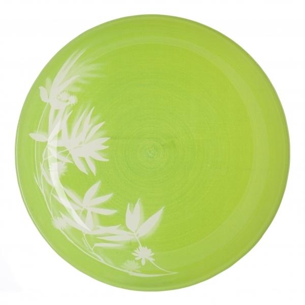 Тарелка глубокая Luminarc Darjeeling Green, диаметр 20 смH3563Глубокая тарелка Luminarc Darjeeling Green выполнена из ударопрочного стекла и украшена изображением цветов. Она прекрасно впишется в интерьер вашей кухни и станет достойным дополнением к кухонному инвентарю. Тарелка Luminarc Darjeeling Green подчеркнет прекрасный вкус хозяйки и станет отличным подарком. Диаметр тарелки (по верхнему краю): 20 см.