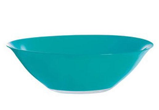Салатник Luminarc Fizz Frozen, диаметр 27 смH8787Салатник Luminarc Fizz Frozen выполнен из ударопрочного стекла. Яркий дизайн придется по вкусу и ценителям классики, и тем, кто предпочитает утонченность и изысканность. Салатник Luminarc Fizz Frozen идеально подойдет для сервировки стола и станет отличным подарком к любому празднику. Диаметр (по верхнему краю): 27 см.