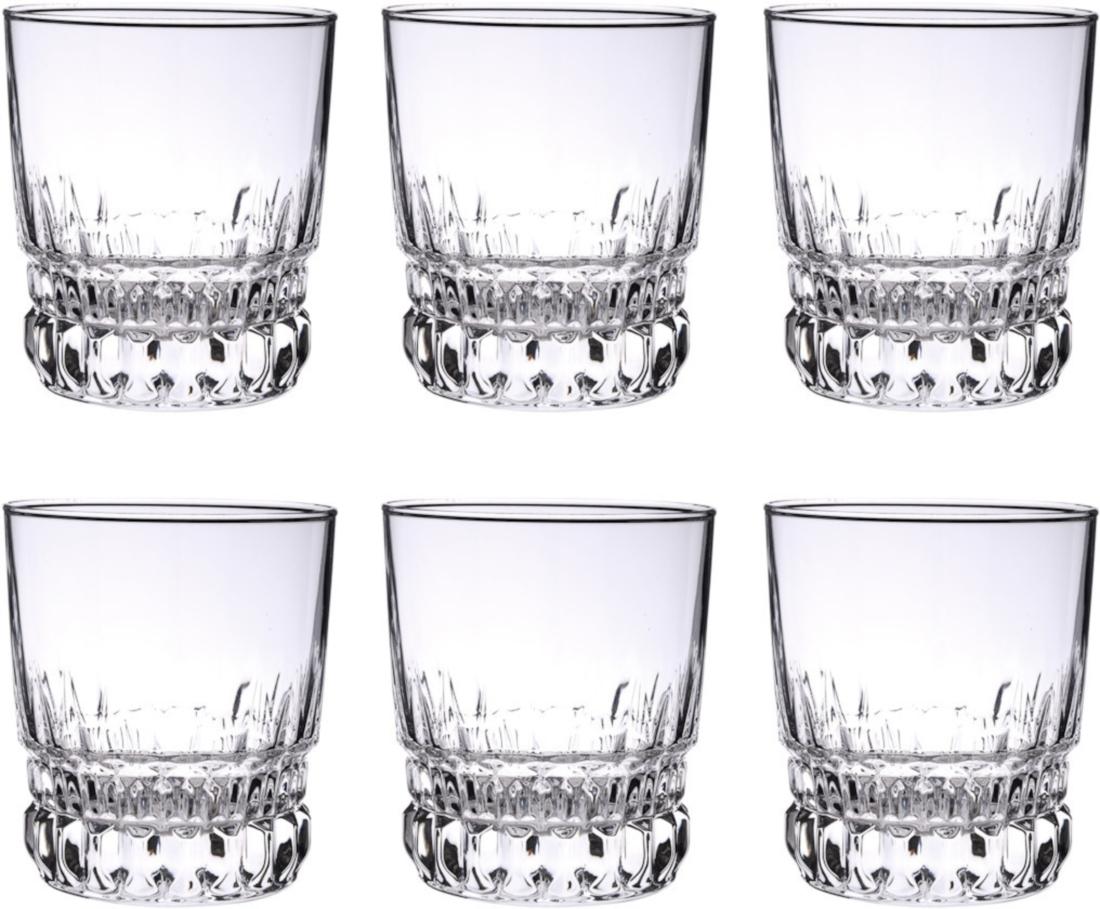 Набор стаканов Luminarc Imperator, 300 мл, 6 штC7233Набор Luminarc Imperator состоит из 6 граненых стаканов, выполненных из высококачественного стекла. Изделия имеют изысканный дизайн, утонченную форму и ослепительный блеск. Могут использоваться для алкогольных и безалкогольных напитков. Такой набор станет прекрасным дополнением сервировки стола, подойдет для ежедневного использования и для торжественных случаев. Можно мыть в посудомоечной машине. Диаметр стакана (по верхнему краю): 8 см. Высота стакана: 9,5 см.