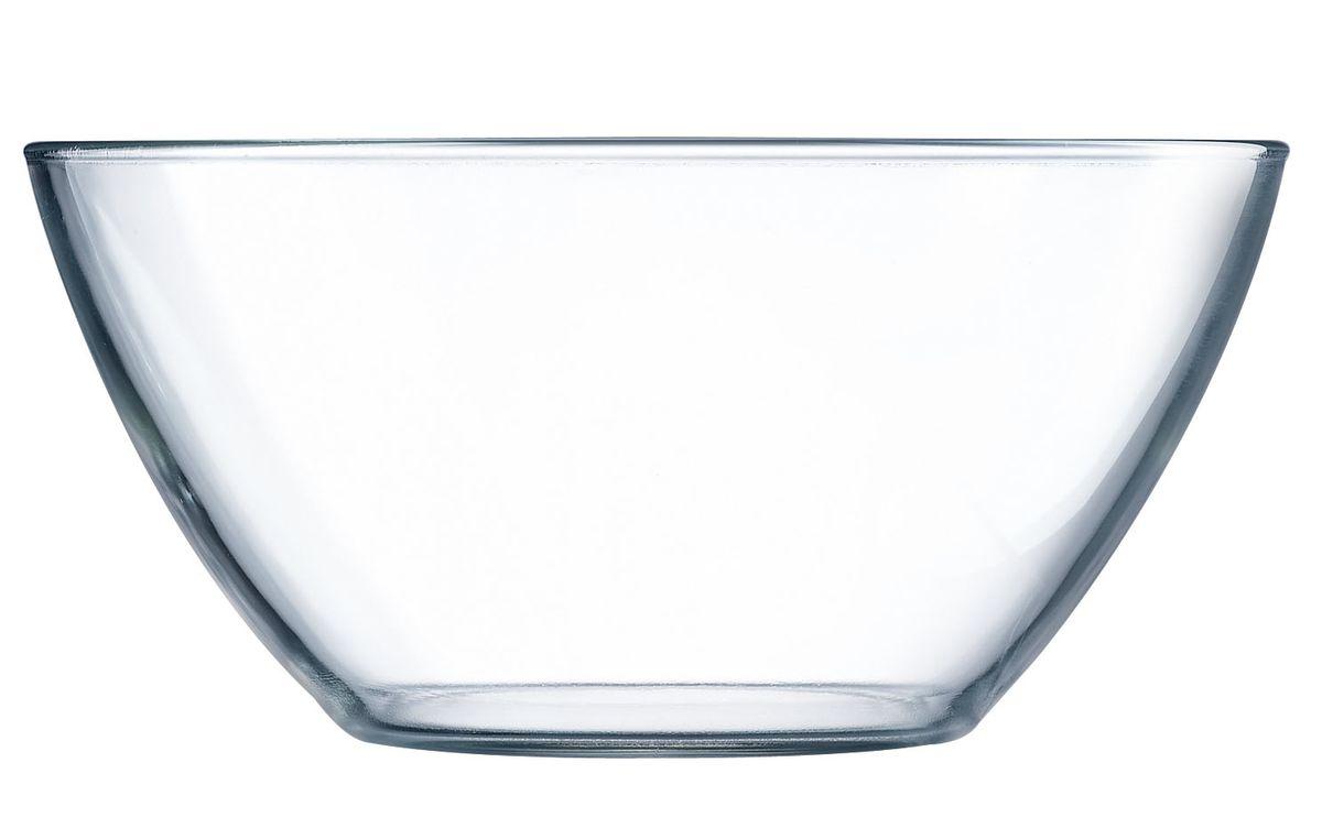 Салатник Luminarc Cosmos, диаметр 23 смE8859Салатник Luminarc Cosmos отлично подойдет для подачи салатов из свежих овощей и фруктов, насыщая каждого участника трапезы полезными витаминами. Простой и универсальный салатник на каждый день изготовлен из качественного стекла, безопасен при контакте с пищевыми продуктами, не выделяет вредных веществ. Диаметр салатника: 23 см.