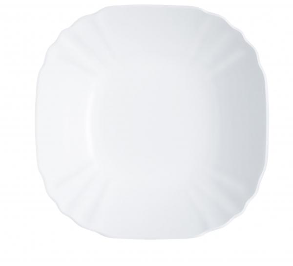 Салатник Luminarc Lotusia, диаметр 27 смH1396Салатник Luminarc Lotusia выполнен в современном дизайне и подойдет для использования в любых интерьерах. Салатник, диаметром 27 сантиметров, можно использовать для подачи холодных закусок, снеков или сладостей на общий стол. Белоснежный цвет выгодно подчеркнет изысканность ваших блюд. Салатник произведен известной маркой Luminarc из качественного ударопрочного стекла, долговечен, не впитывает запахи и обладает антибактериальными свойствами. Салатник можно мыть в посудомоечной машине и использовать в СВЧ-печи.