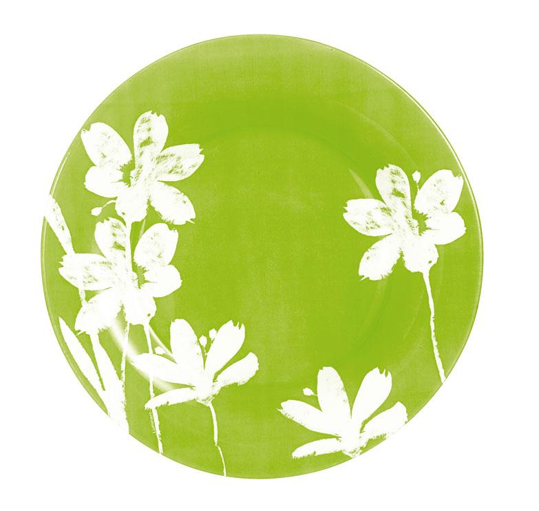 Тарелка Luminarc Cotton Flower, диаметр 25 смH2776Десертная тарелка Luminarc Cotton Flower, изготовленная из ударопрочного стекла, имеет изысканный внешний вид. Такая тарелка прекрасно подходит как для торжественных случаев, так и для повседневного использования. Идеальна для подачи десертов, пирожных, тортов и многого другого. Она прекрасно оформит стол и станет отличным дополнением к вашей коллекции кухонной посуды. Диаметр тарелки (по верхнему краю): 25 см.