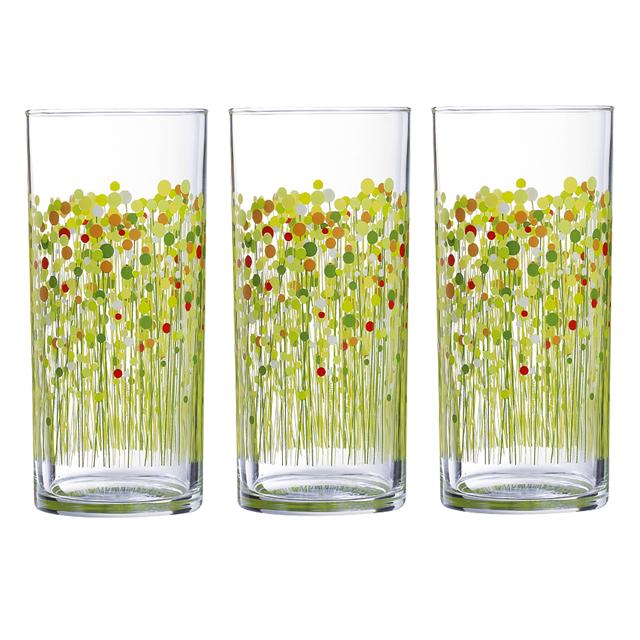 Набор стаканов 3 шт, 30CL FH FLOWERFIELD H2867H2867