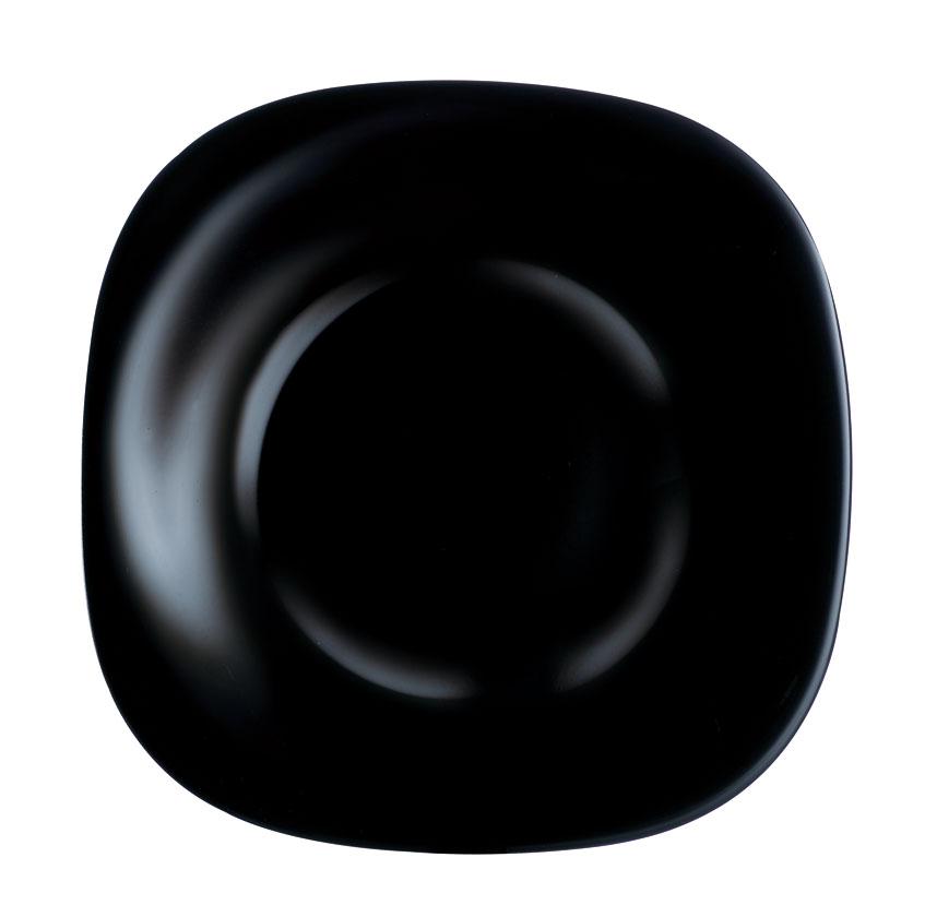 Тарелка глубокая Luminarc Carine Black, 21 х 21 смH3661Глубокая тарелка Luminarc Carine Black выполнена из ударопрочного стекла, устойчивого к трению, механическим повреждениям и резким перепадам температуры. Служит для подачи первых блюд и вмещает 450 мл жидкости (до самого края). Благодаря прекрасному эстетическому виду и высочайшему качеству, тарелка удовлетворит самые высокие предпочтения современных домохозяек и гурманов. Пригодна для использования в посудомоечной машине и микроволновой печи.