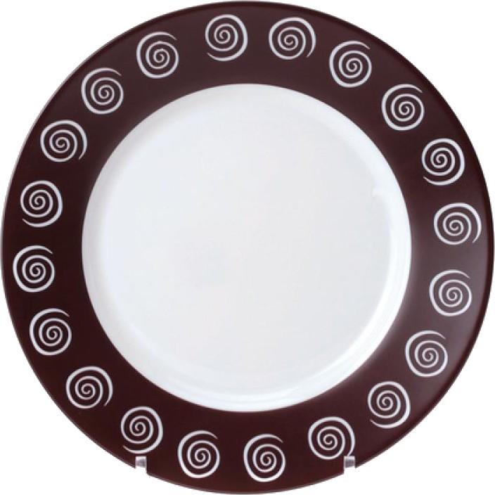 Тарелка плоская SIROCCO BROWN G4121/H4785H4785