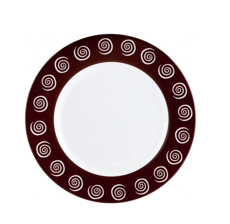 Тарелка десертная Luminarc Sirocco Brown, диаметр 19 смH4884Десертная тарелка Luminarc Sirocco Brown, изготовленная из ударопрочного стекла, декорирована оригинальным орнаментом. Такая тарелка прекрасно подходит как для торжественных случаев, так и для повседневного использования. Идеальна для подачи десертов, пирожных, тортов и многого другого. Она прекрасно оформит стол и станет отличным дополнением к вашей коллекции кухонной посуды. Можно мыть в посудомоечной машине.