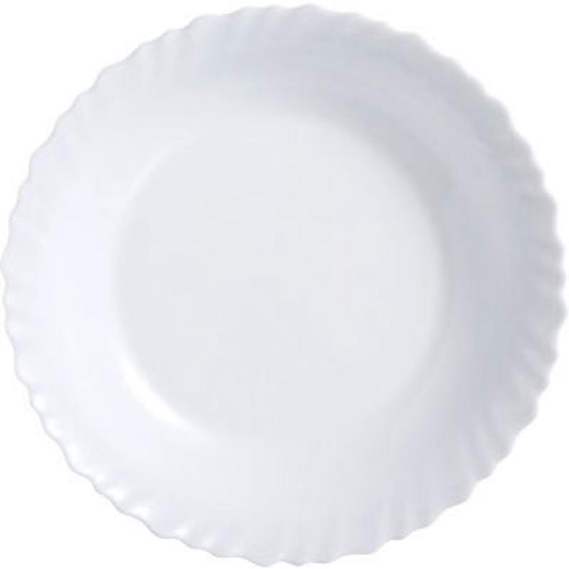Блюдо Luminarc Festion, диаметр 28 смH4989Блюдо Luminarc Feston изготовлено из ударопрочного стекла. Диаметр блюда (по верхнему краю): 28 см.