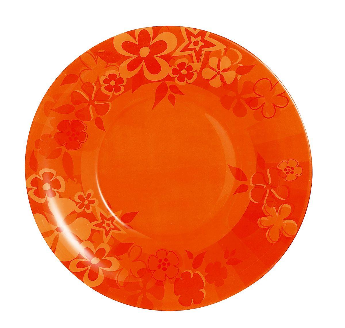 Тарелка десертная Luminarc Little Flowers, диаметр 19,5 смH5117Десертная тарелка Luminarc Little Flowers, изготовленная из ударопрочного стекла, декорирована оригинальным цветочным изображением. Такая тарелка прекрасно подходит как для торжественных случаев, так и для повседневного использования. Идеальна для подачи десертов, пирожных, тортов и многого другого. Она прекрасно оформит стол и станет отличным дополнением к вашей коллекции кухонной посуды. Диаметр тарелки (по верхнему краю): 19,5 см. Высота тарелки: 1,5 см.