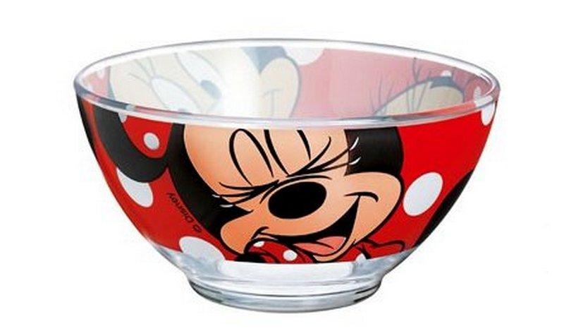 Салатник Luminarc Oh, Minnie, 500 млH6442Салатник Luminarc Oh, Minnie, объемом 500 мл, порадует вашего ребенка. Идеален для сервировки легких летних салатов. Материал: ударопрочное стекло, устойчивое к резким перепадам температуры. Можно мыть в посудомоечной машине и использовать в СВЧ.