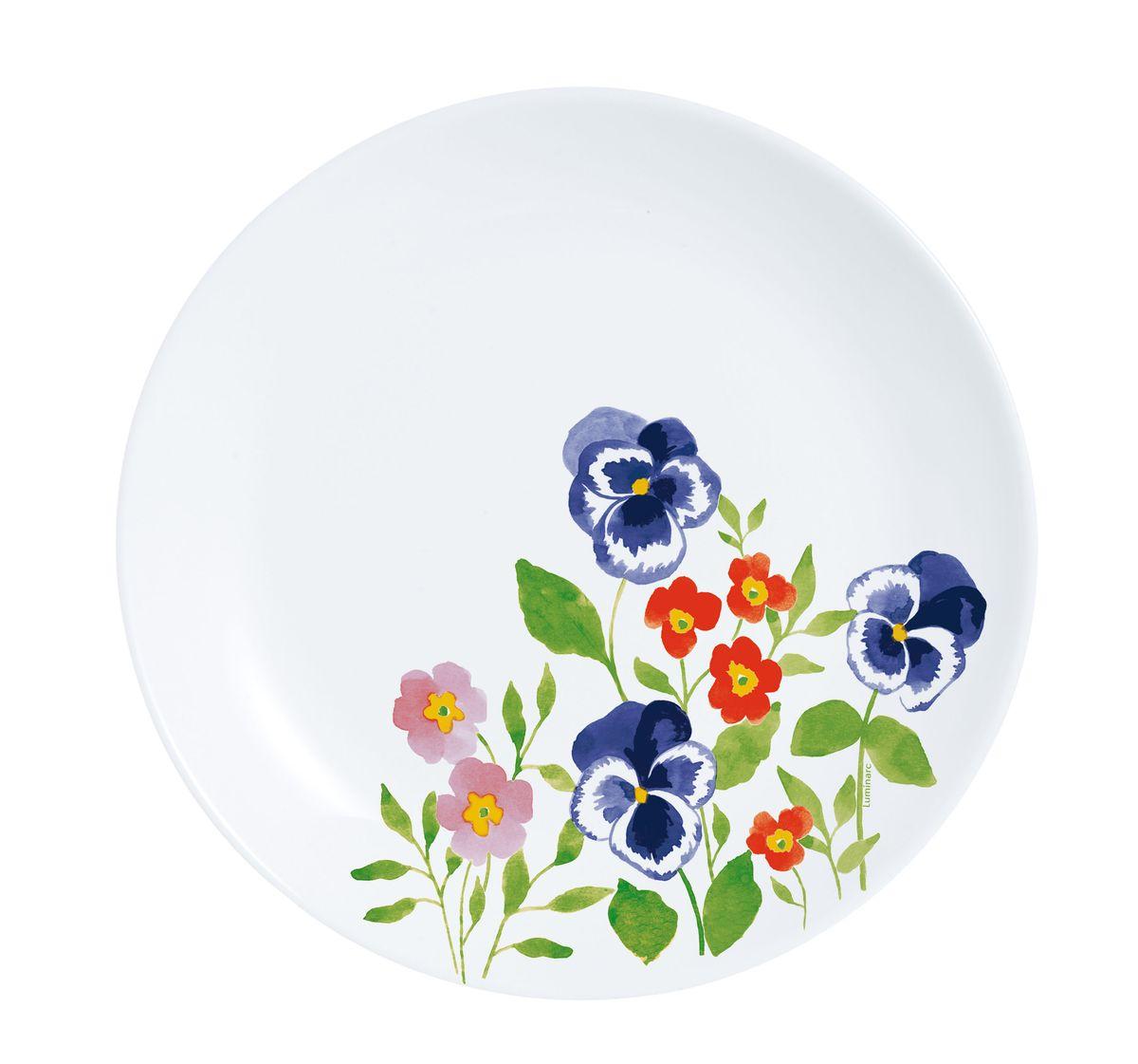 Тарелка десертная Luminarc Magda, диаметр 19 смH8579Тарелка десертная Luminarc Magda изготовлена из ударопрочного стекла. Такая тарелка прекрасно подходит как для торжественных случаев, так и для повседневного использования. Идеальна для подачи десертов, пирожных, тортов и многого другого. Она прекрасно оформит стол и станет отличным дополнением к вашей коллекции кухонной посуды. Изделие можно мыть в посудомоечной машине. Диаметр тарелки: 19 см.