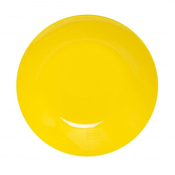 Тарелка глубокая Luminarc Arty, диаметр 20 смH8765Глубокая тарелка Arty Azur надежной марки Luminarc - интересное решение для кухонь и столовых в классическом и современном дизайне. Глянцевая тарелка насыщенного желтого цвета украсит стол и добавит яркости и оригинальности сервировке. Тарелка изготовлена из ударопрочного стекла, которое не впитывает запахи и обладает антибактериальными свойствами. Ее можно мыть в посудомоечной машине и использовать в микроволновой печи.