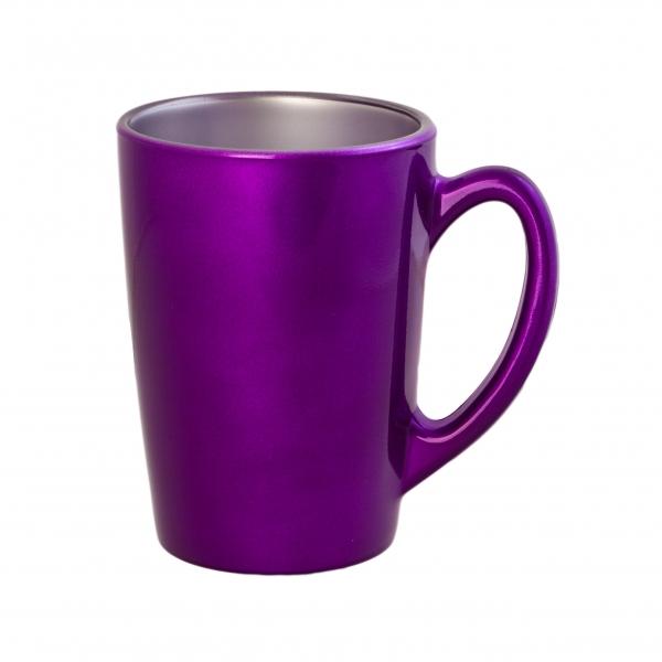 Кружка Luminarc Flashy Colors, цвет: фиолетовый, 320 млJ1123Кружка Luminarc Flashy Colors, изготовленная из высококачественного ударопрочного стекла, оснащена эргономичной ручкой. Кружка прекрасно дополнит интерьер любой кухни. Яркий дизайн изделия придется по вкусу и ценителям классики, и тем, кто предпочитает утонченность и изысканность. Подходит для использования в посудомоечной машине. Диаметр кружки (по верхнему краю): 8 см. Высота кружки: 11,5 см. Объем кружки: 320 мл.