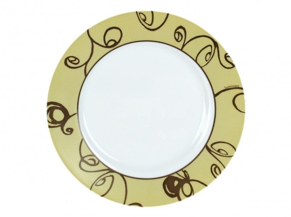 Тарелка десертная Luminarc Brittany, диаметр 18 смJ2540Тарелка десертная Luminarc Brittany изготовлена из ударопрочного стекла. Такая тарелка прекрасно подходит как для торжественных случаев, так и для повседневного использования. Идеальна для подачи десертов, пирожных, тортов и многого другого. Она прекрасно оформит стол и станет отличным дополнением к вашей коллекции кухонной посуды. Изделие можно мыть в посудомоечной машине, ставить в микроволновую печь и холодильник. Диаметр тарелки: 18 см.